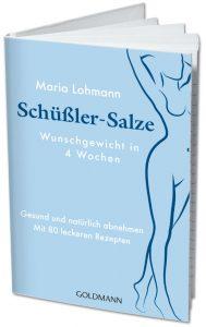 Buch Schüßler-Salze Wunschgewicht in 4 Wochen Gesund und natürlcih abnehmen Mit 80 leckeren Rezepten