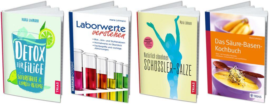 Bücher von Maria Lohmann erschienen im Trias Verlag